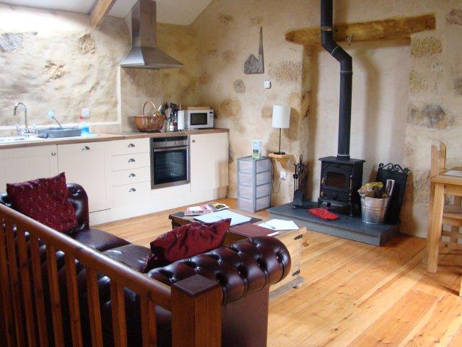 Nessa lounge kitchen